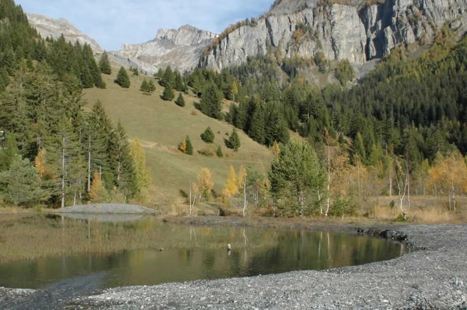 Berge de lac de montagne
